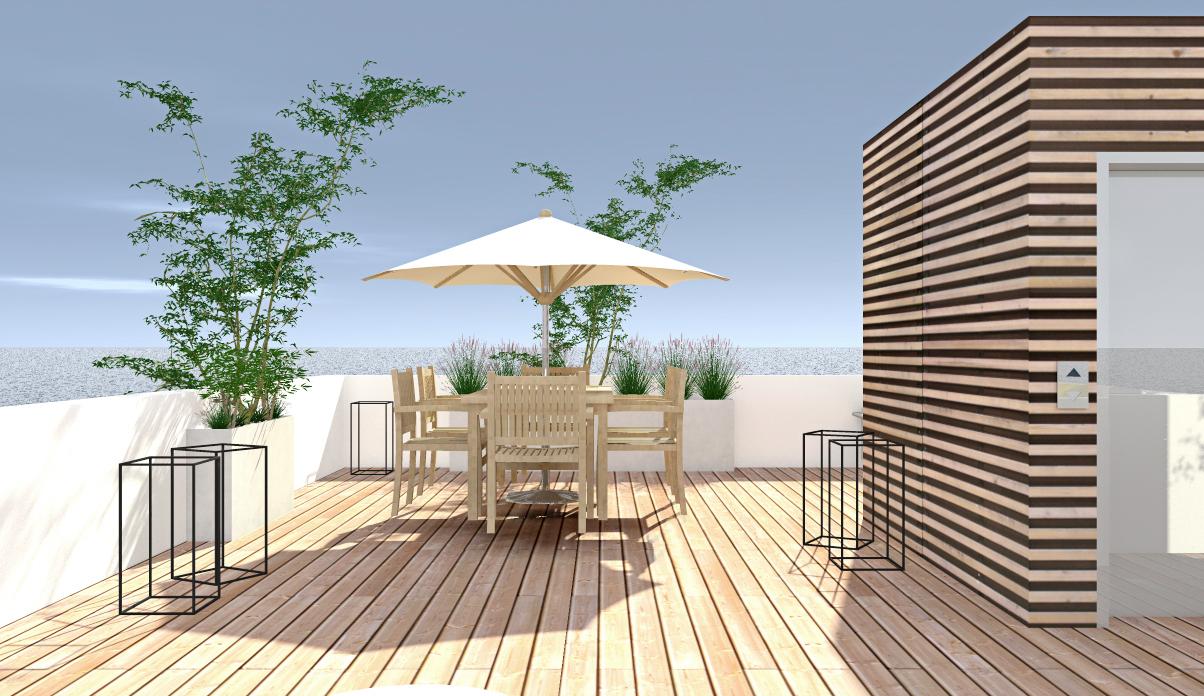 Progettazione di interni, modellazione 3D e Rendering.