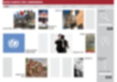 Progettazione layout, scelta immagini/colori/font, realizzazione sito web.