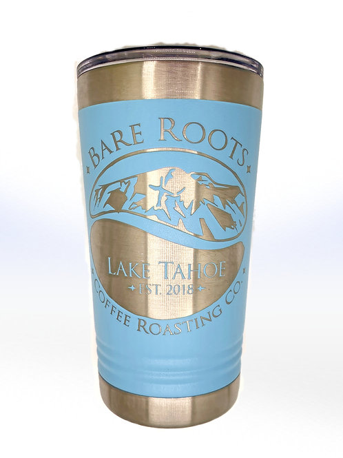 Bare Roots Baby Blue Tumbler