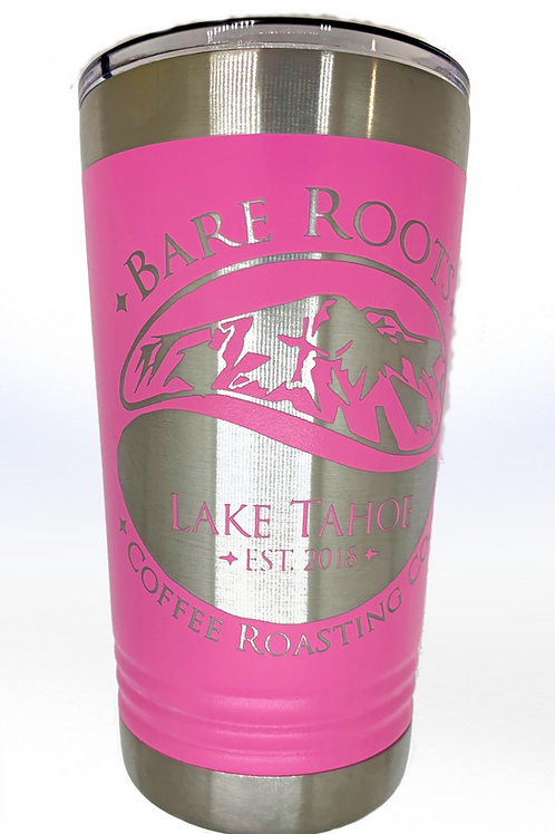 Bare Roots Hot Pink Tumbler