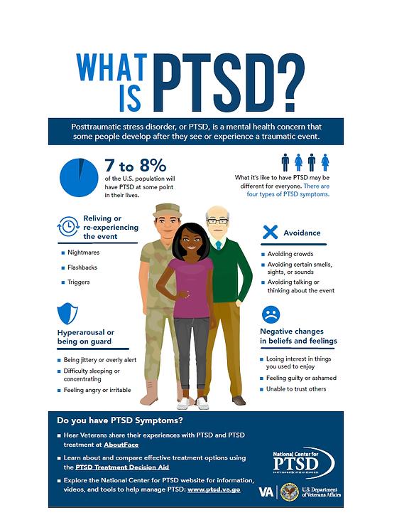 PTSD flyer - for Stigma Free Cle 2021 Ca