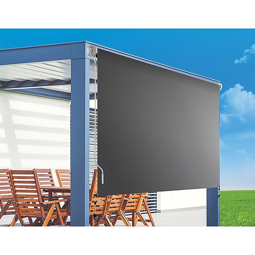 3.0 x 2.5m Retractable Straight Drop Roll Down Awning Screen