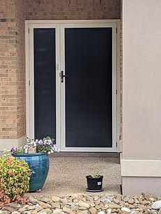 Security Screen Door with Frame