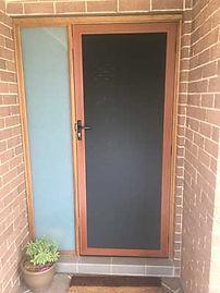 C&R Home Ideas One way Mesh Security Screen Door Melbourne