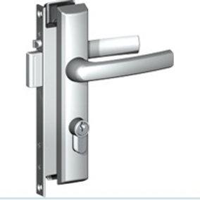 """Austral """"Elegance"""" security screen door lock  *XC Black*"""