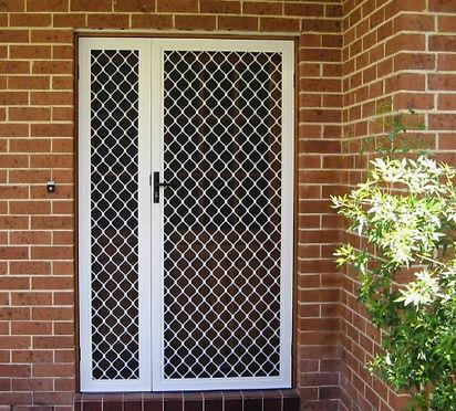 Diamond Door with Side Panel