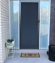 C&R Home Ideas Restricted View Security Doors Melbourne