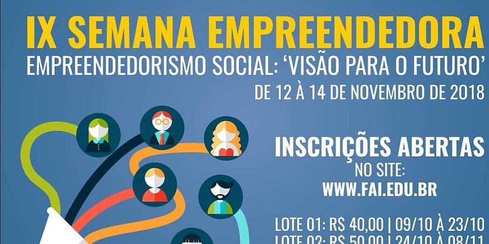 IX Semana Empreendedora