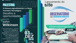 """Lançamento do site """"Observatório do Desenvolvimento"""""""