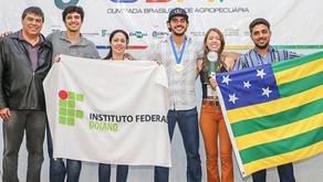 Equipe de Iporá vence a Olimpíada Brasileira de Agropecuária.