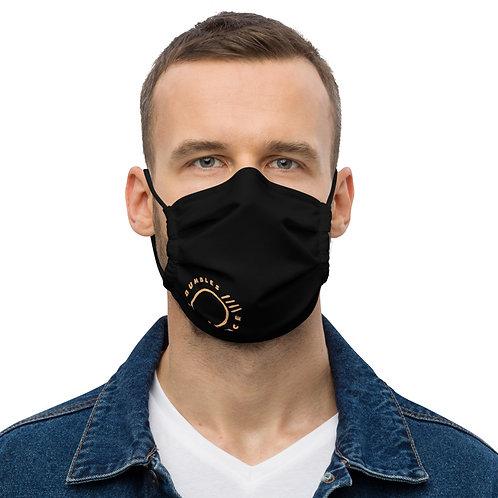 BB Logo  Premium face mask- Black