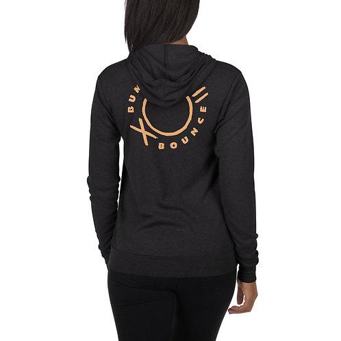 BB 2 sided print (Lightweight)  Unisex zip hoodie