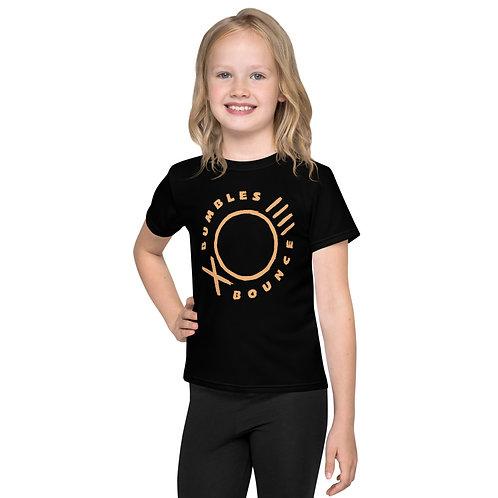 Bumbles Logo Kids crew neck t-shirt Black
