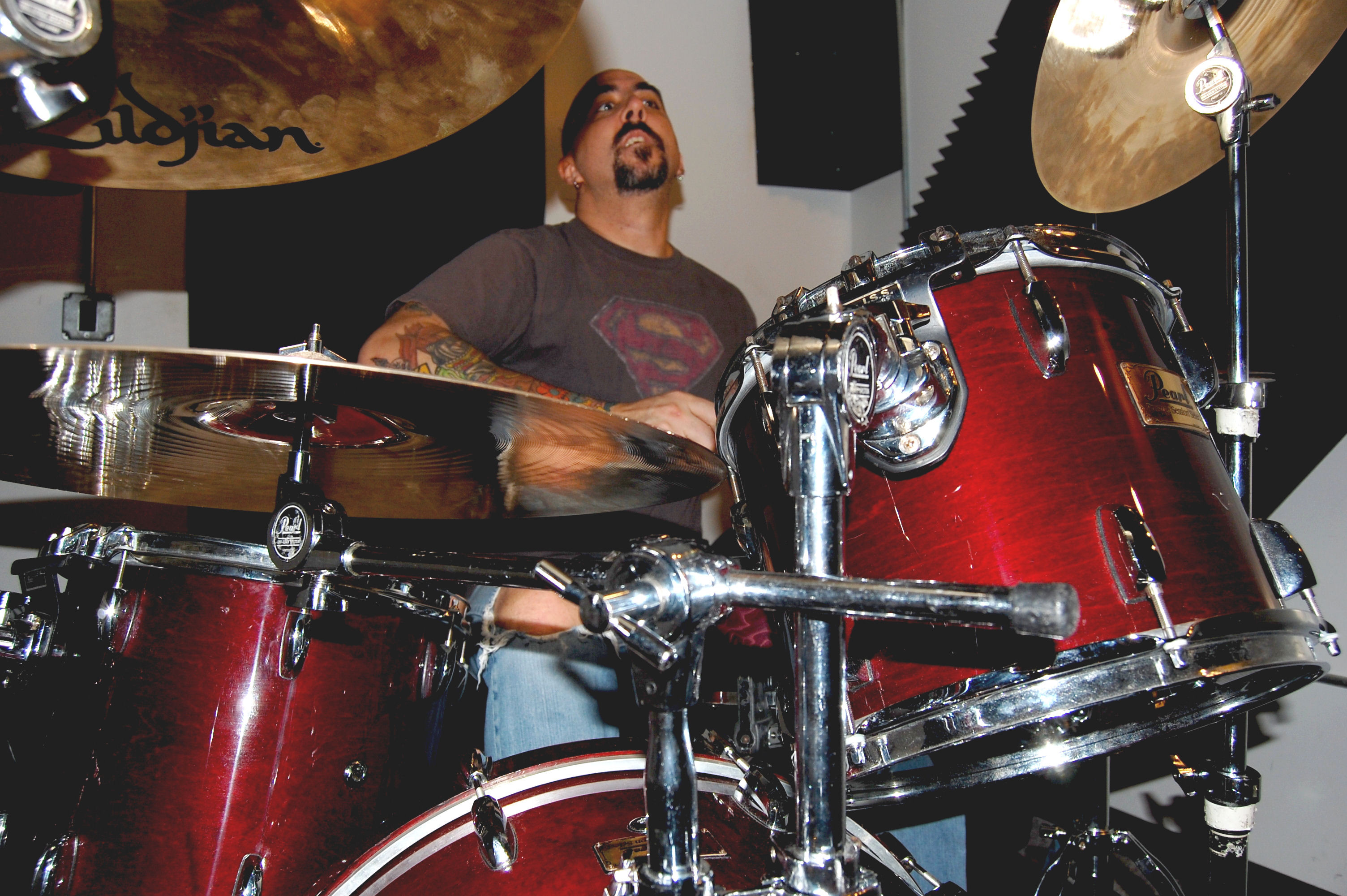 Drum Instruction in Person 30 min