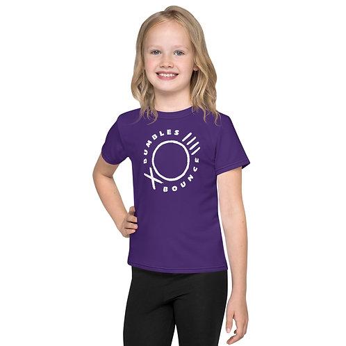 Bumbles Logo Kids crew neck T-shirt Purple