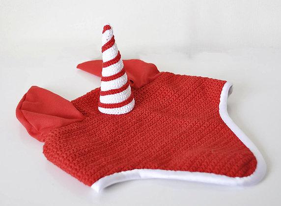 Bonnet licorne de Noël