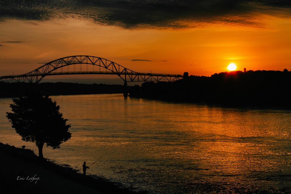 Sagamore Bridge Sunrise