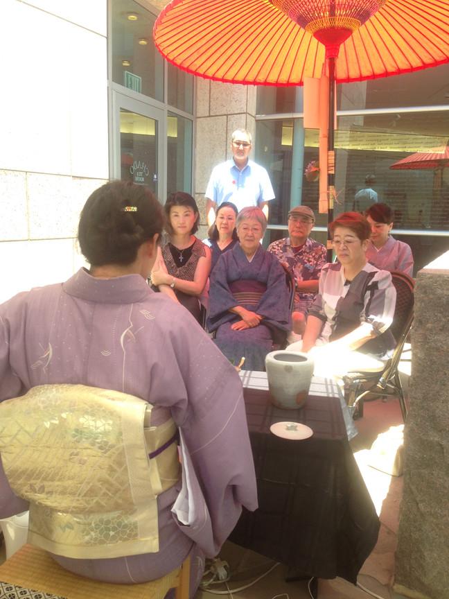 Celebrating 1 Year Anniversary at Chado Tea Room