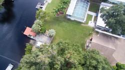 River Home Backyard