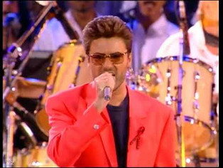 George Michael and Queen Pay Tribute to Freddie Mercury