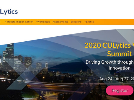 Fifth Annual CUlytics Summit Goes Virtual