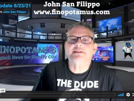 Finopotamus Video Recap 8/23/21