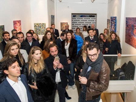 Solo Exhibition Opening Launch @ Debut Contemporary