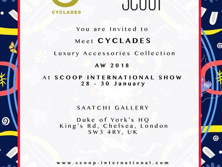 Cyclades, Leto Lama fashion Exhibition at the prestigious Saatchi Gallery in London  Scoop London Fa
