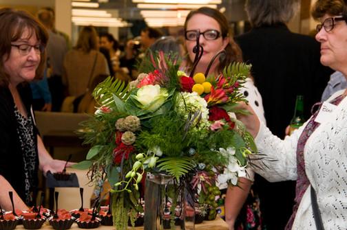 Julie, Bambi and Flowers.jpg
