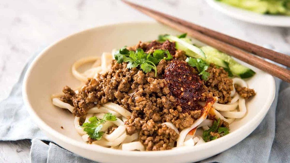 Noodle meal for two or three