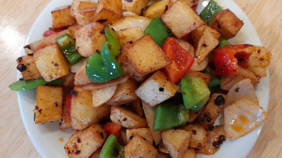 Spicy vegetable and potato