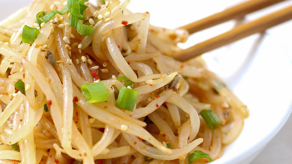 Beansprout salad