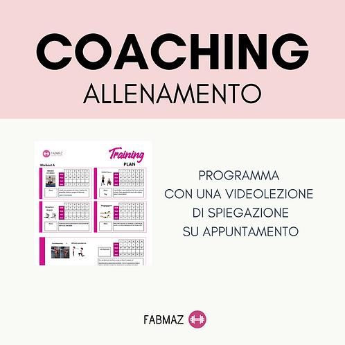 Coaching ALLENAMENTO