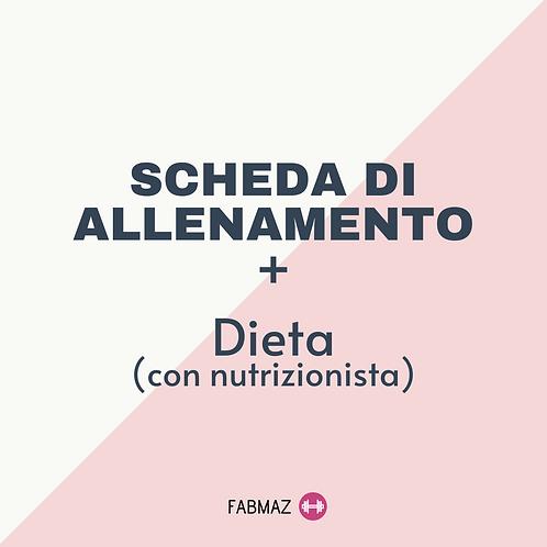 Allenamento + Dieta personalizzati