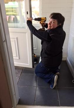 Mel Fixing a Lock