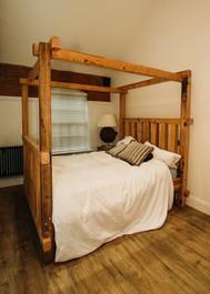 Reclaimed Timber Four Poster Bed
