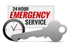 24 hour locksmith logo