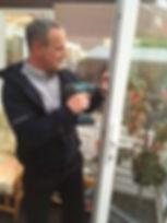Geoff Fixing Door Lock