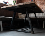 Timber Steel Table Legs