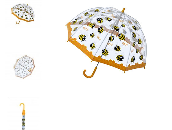 Bee PVC Umbrella for children from Bugzz @ Soake Kids