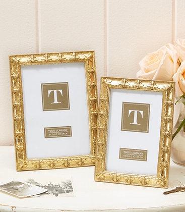 Set of 2 Golden Bee Photo Frames