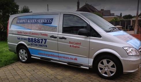 Carpet Cleaning Docaster Van