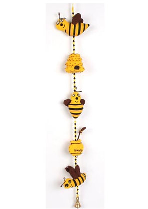 Tota bells children's mobile bees and honey