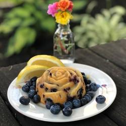 Blueberry Lemon Rose