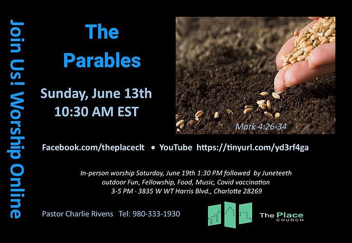 Invite 6-13-21 The Parables Mark 4 26-34