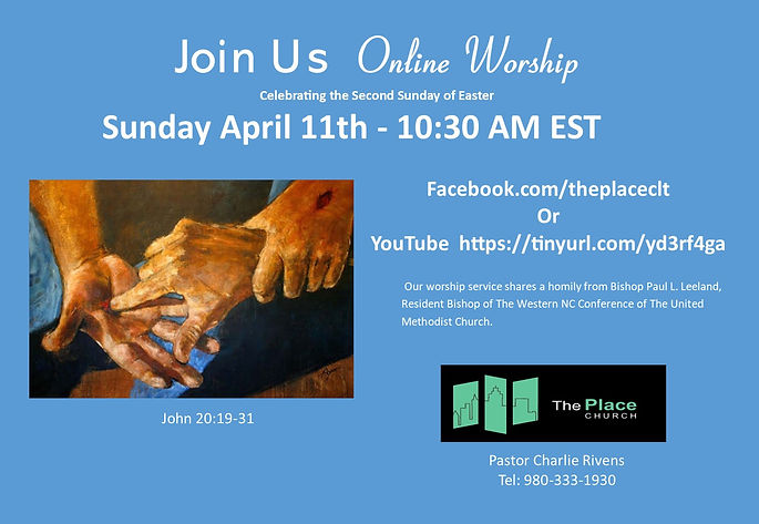 Invite 4-11-21 2nd Sunday of Easter John