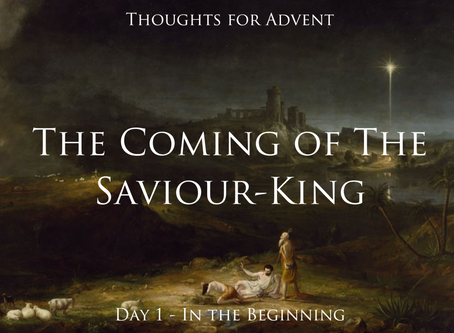 Advent -  Day 1:  A Tiny Hope - From Skepticism to Singing