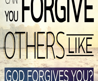 Our Forgiveness in Jesus