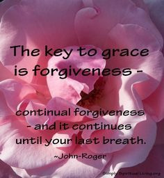 A Lifestyle of Continual Forgiveness