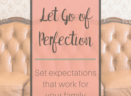 Living Without Expectation of Perfection - Galatians 2:21;  Proverbs 28:13
